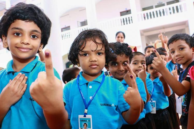 Kerala Election Commission conducts school poll in Kottayam for first time