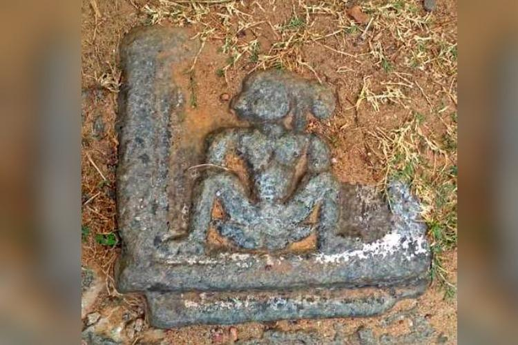 Ancient idol of goddess found on roadside in Udupi Historians say its a rare find