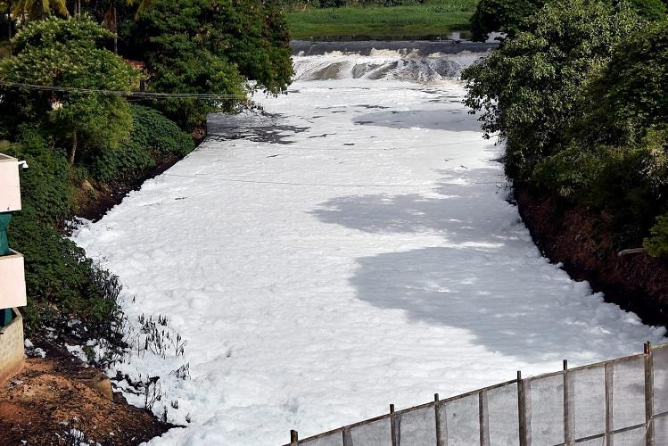 No more froth from Bellandur Four new sewage treatment plants commissioned