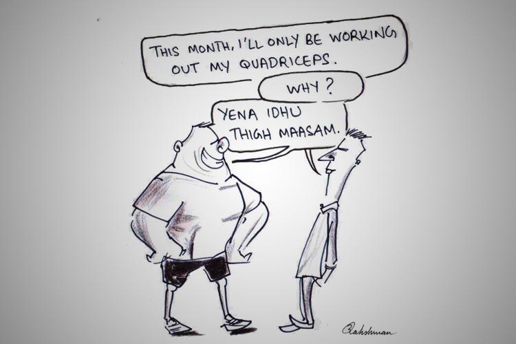 Thigh maasam to Mad-Eye Moodi Meet the TN cartoonist with a flair for mokkai