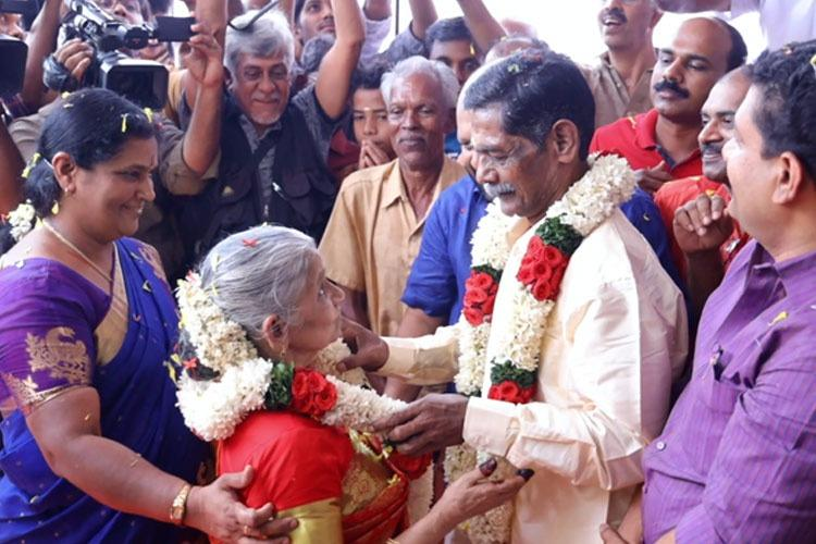 Kerala couple in their 60s get married at the old age home where they fell in love