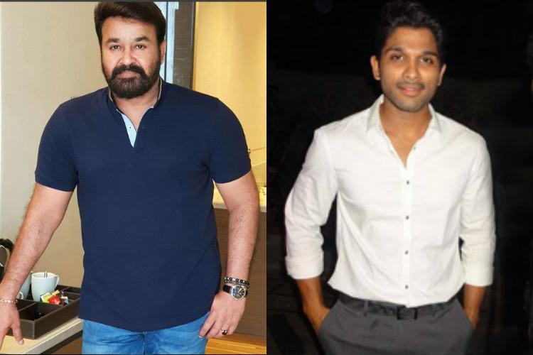 Mohanlal Allu Arjun donate Rs 25 lakh each to Kerala CMs relief fund