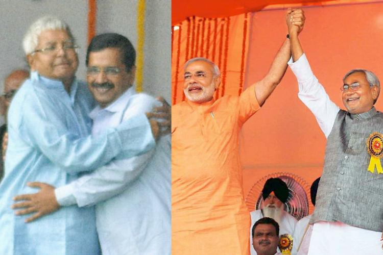 What Lalu did to Kejriwal Modi did to Nitish - and Kejriwal handled it quite well