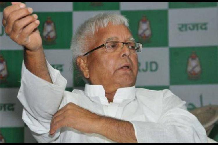 Lalu Prasad Yadav credits wife for RSS dropping half-pants