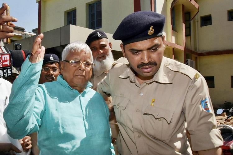 Fourth fodder scam case Former Bihar CM Lalu Prasad convicted
