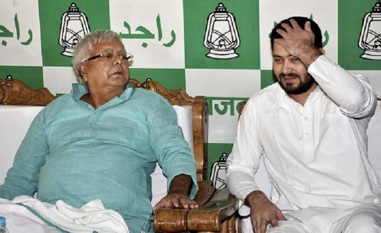 Nitish an opportunist conspired with BJP to frame my family Lalu Prasad
