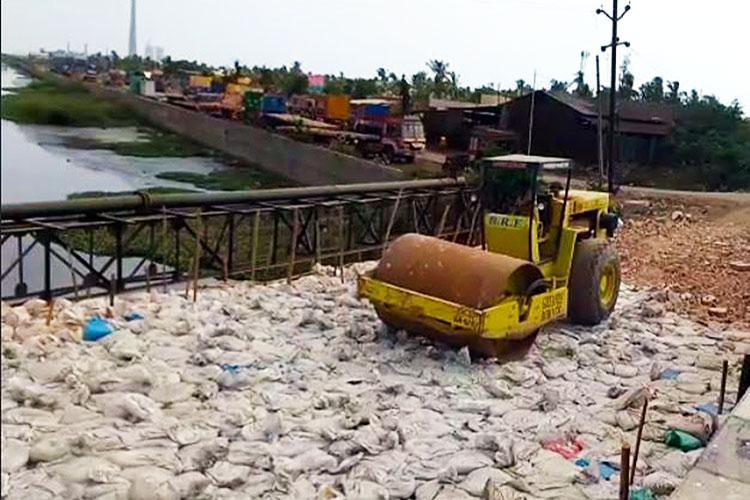 Killing waterways No lessons learnt from Chennai floods road built on riverbed in TN