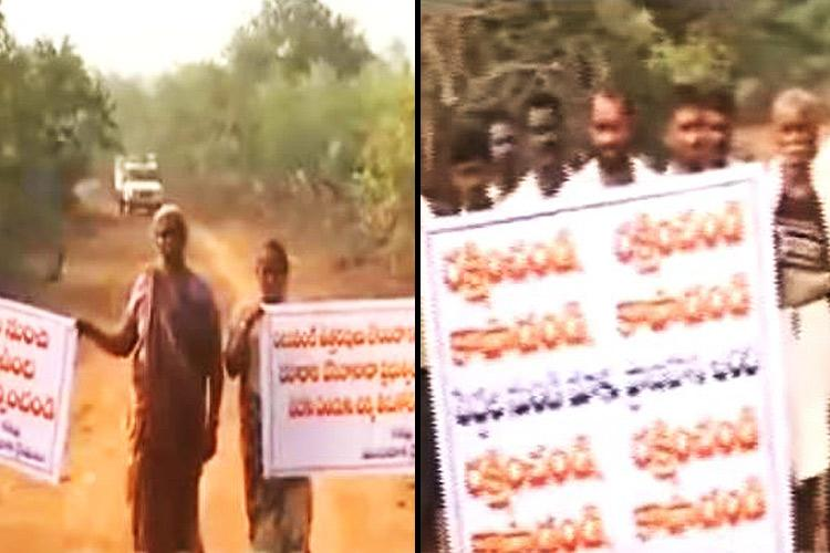 Swindled by a broker 90 odd farmers sold their land for a pittance in AP