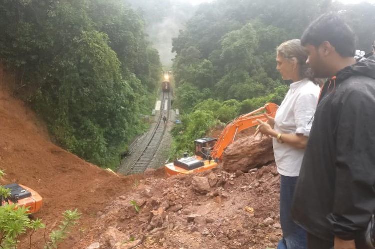 Fresh landslides in Malnad region of Karnataka Charmadi Ghat road blocked