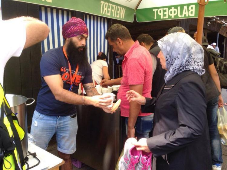 Syrian Langar How a group of Sikh volunteers are helping provide food to refugees everyday