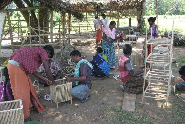 Tribal craftsmen in MM Hills turn a harmful forest weed into handcrafted furniture