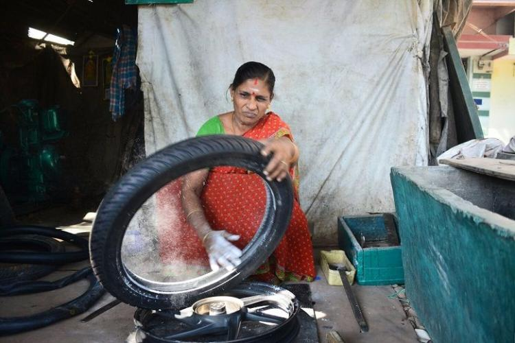 Meeting Latha A woman mechanic fighting stereotypes in Theni