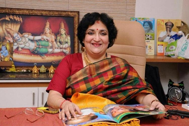 Supreme Court warns Latha Rajinikanth over non-payment of dues