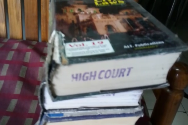 On the wrong side of the Law Advocate arrested for stealing books from Hyderabad HC