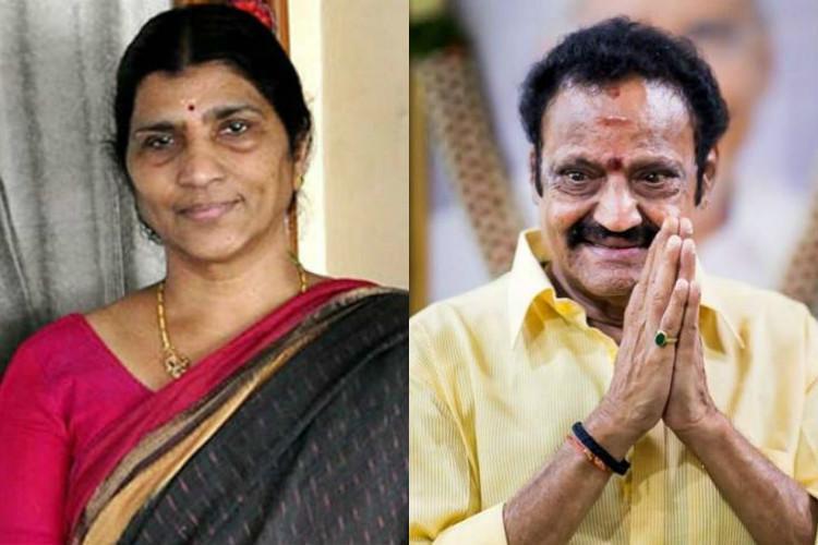 He was just knew no back-stabbing Lakshmi Parvathi on Harikrishnas death