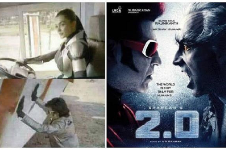 Pictures from Rajinikanths 20 leaked filmmakers concerned