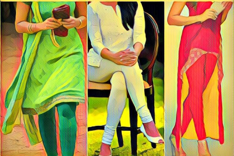 Dear moral police and fellow devotees whats your problem with leggings