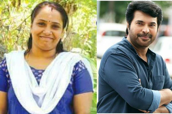 Mammootty gives Rs 1 lakh for treatment of Lekha kidney-donor inspired by his film