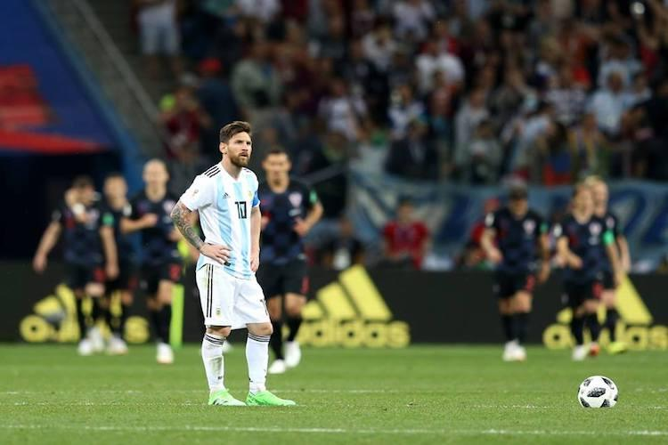 What pushed Argentina to brink of World Cup elimination