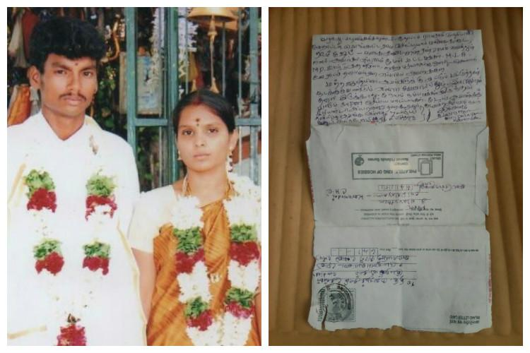 Unending ordeal Murdered Dalit man Sankars family receives threatening letter with caste insults
