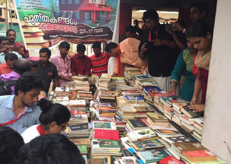 Suspected right-wing vandals burnt Kerala library people donate books with a vengeance