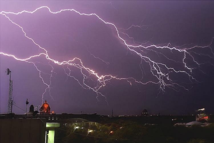 Lightning strikes UP Bihar 110 dead in two days 32 injured