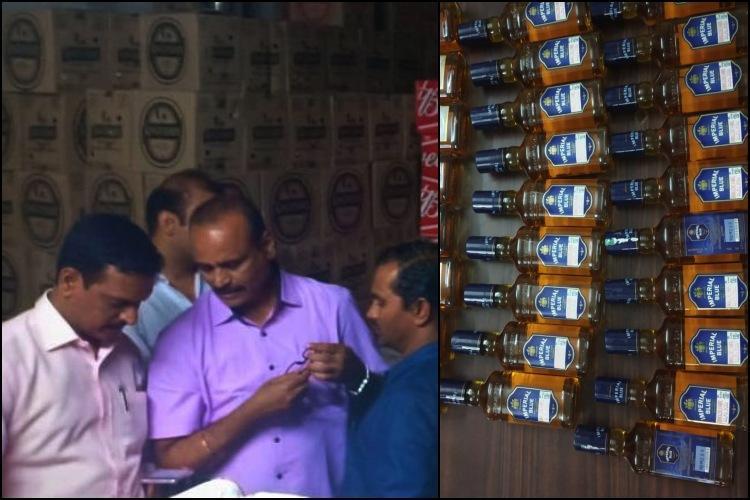 Ahead of AP polls illegal liquor worth Rs 77 lakh seized by Vijayawada police