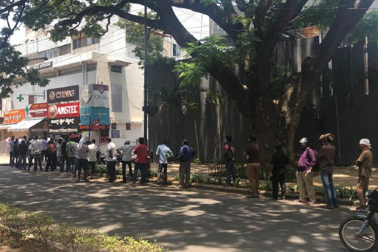 Liquor store in Bengaluru