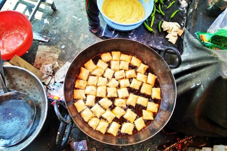 Hyderabads lukhmi Once a favourite meat snack this savoury dish is disappearing