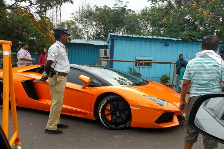 Luxury Cars Seized For Overspeeding In Chennai One Driver - Sports cars reddit