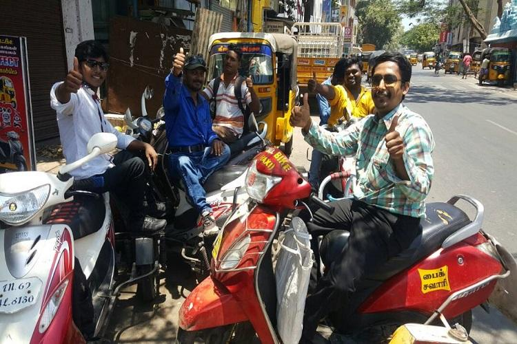 Success story How a bike taxi service with disabled drivers is making waves in Chennai