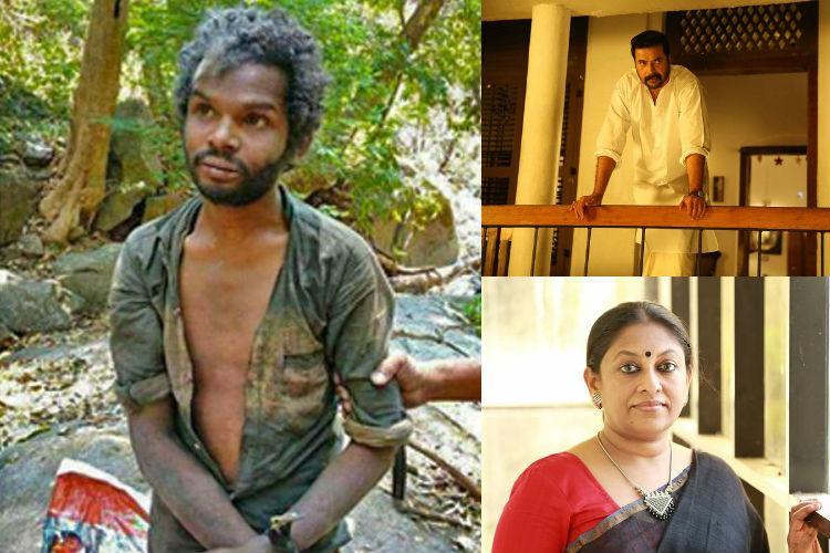 Kerala adivasi man killing Actor Mammootty writer KR Meera condemn incident