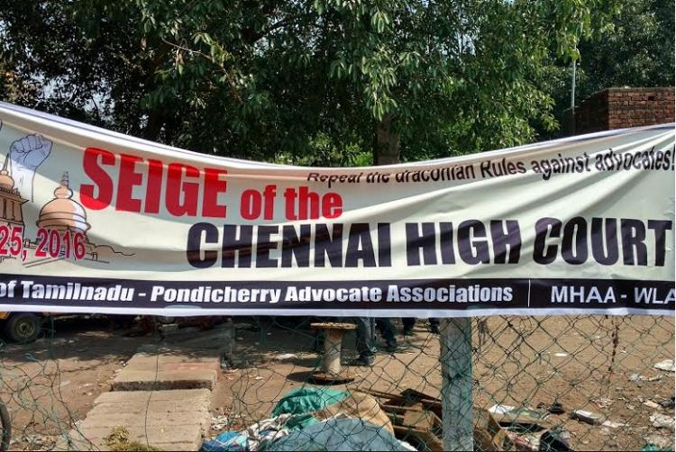 Warzone Madras HC Why Tamil Nadus lawyers are angry and yet arent being too violent