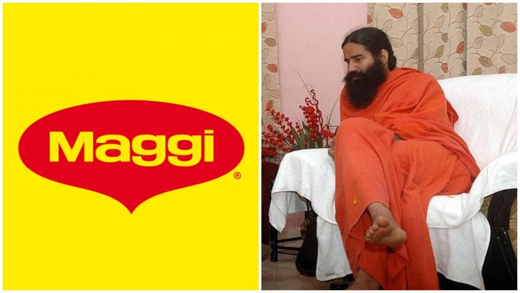 Taking a dig at Maggi Baba Ramdev launches Atta Noodles