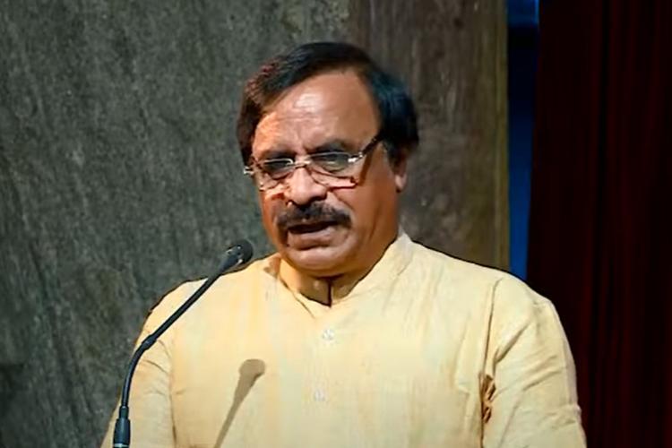 Mahadev Prakash speaking at a BPAC event