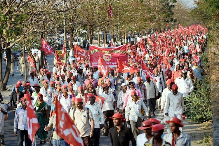 The cost of Maharashtra farmers rally What each farmer loses as they walk to Mumbai