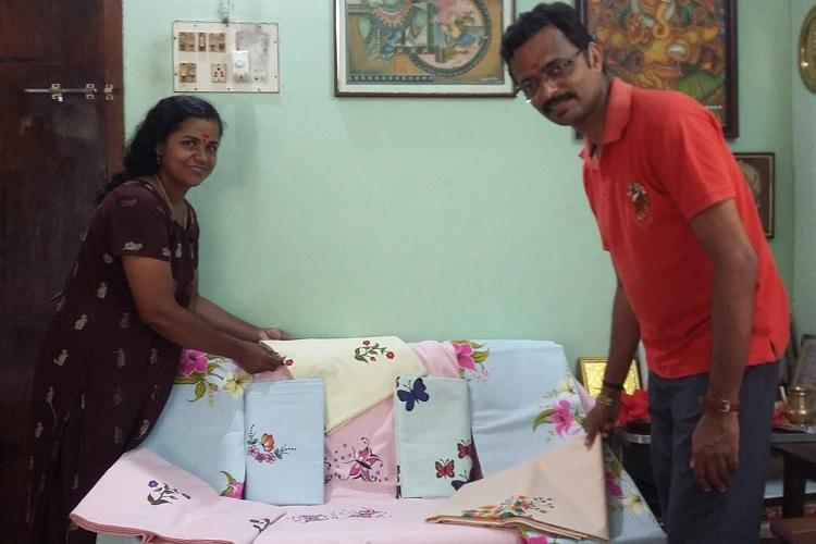 Two Kerala lawyers help artist couple with disabilities set up exhibition