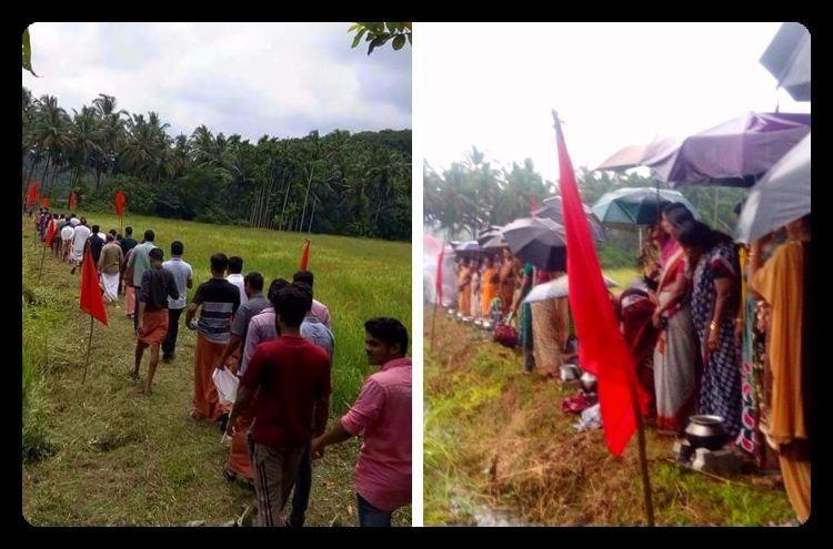 Protest against protestors CPI M to take out mass march amid Keezhattur agitation