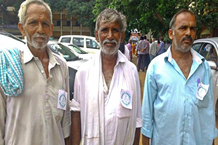 At Andhras Kisan Mukti Yatra stories of debt drought and desperation abound