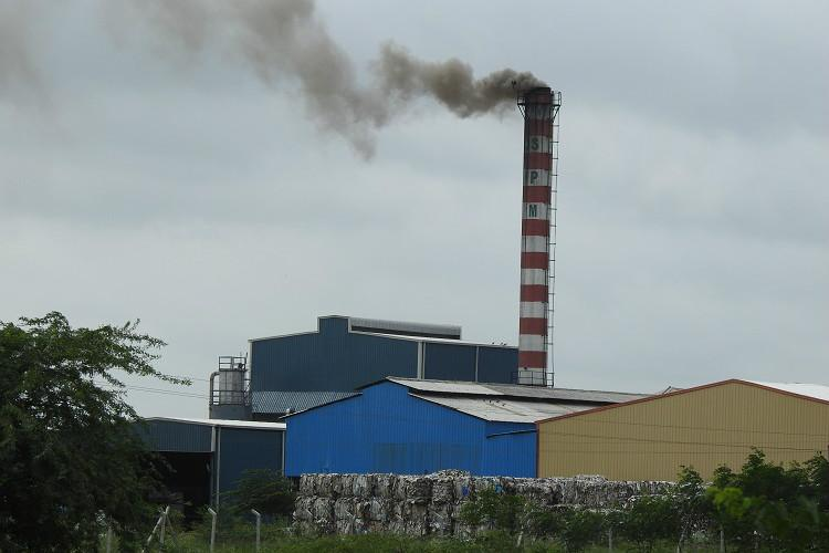 A factory in Telanganas Sangareddy district