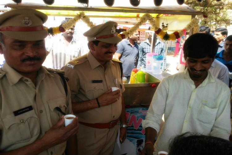 How a reformed criminal set up a tea shop with help from Cyberabad police