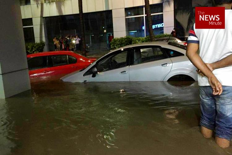 Bengalurus Outer Ring Road completely inundated with only 2mm rainfall heres why