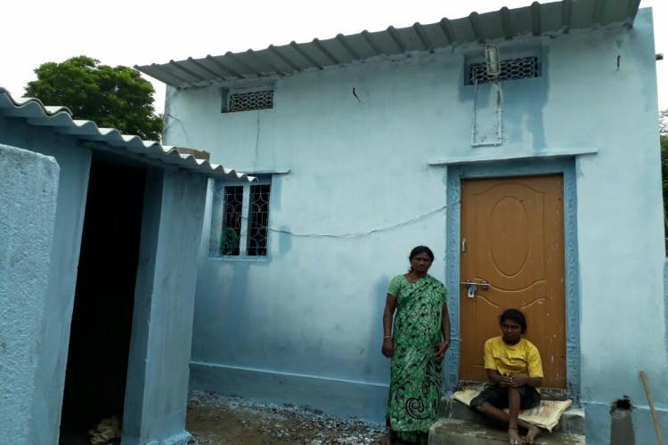 Power of social media Strangers came together to give Telangana woman and her niece a new home