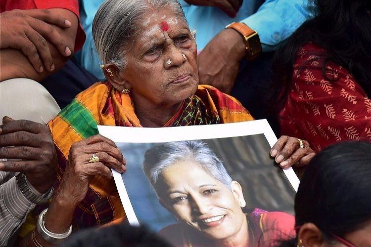In death as in life Gauri Lankesh the rationalist Funeral conducted without religious rites