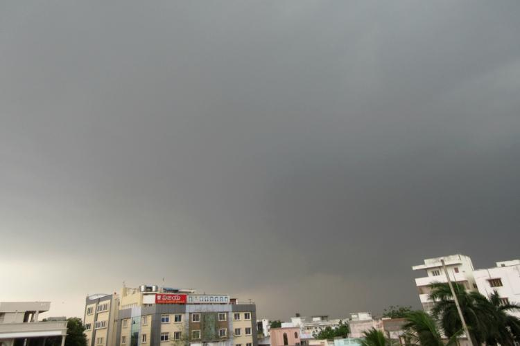 Coastal Andhra receives thunderstorms bringing happy respite from scorching heat