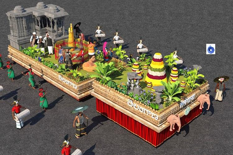 After a gap of 4 years Telanganas tableau selected for Republic-day parade