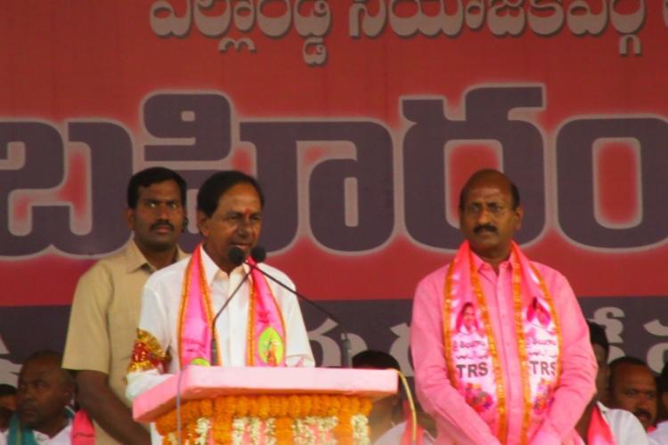 Telangana polls Good turnout at Yellareddy meeting but KCR fails to impress youth