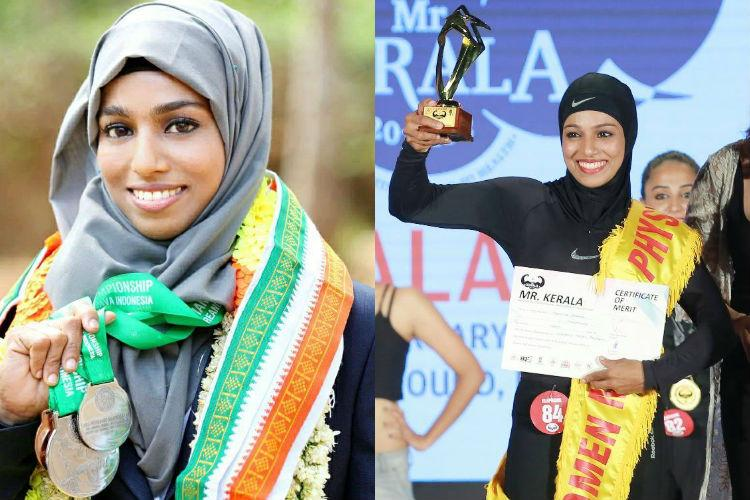 Meet Majiziya Bhanu the hijab-clad powerlifter from Kerala