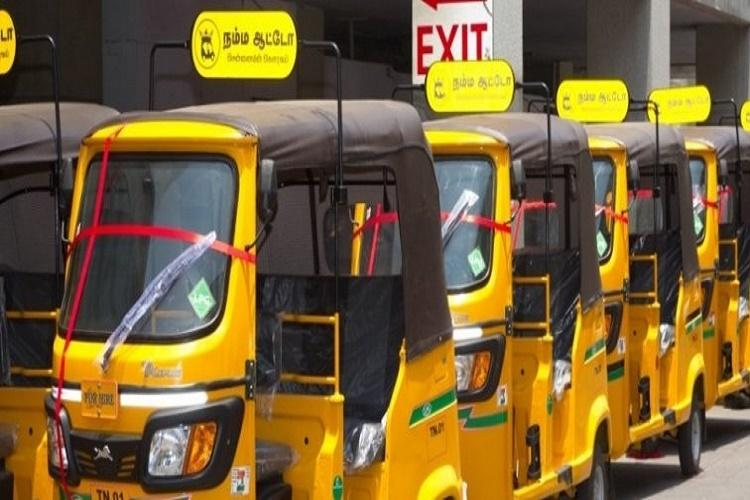 70 and voting in Coimbatore Makkal Auto can drop you for free