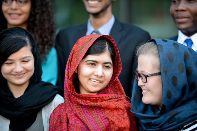 Glad that Malala Yousafzai is a feminist Thank Emma Watson